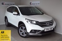 USED 2014 64 HONDA CR-V 2.0 I-VTEC SR 5d 153 BHP Immaculate  - 4 Wheel Drive - Satellite Navigation - Like New