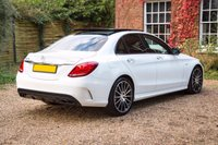 USED 2017 67 MERCEDES-BENZ C-CLASS 3.0 AMG C 43 4MATIC PREMIUM PLUS 4d AUTO 362 BHP