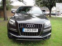 2013 AUDI Q7 3.0 TDI QUATTRO S LINE PLUS 5d AUTO 245 BHP £25000.00
