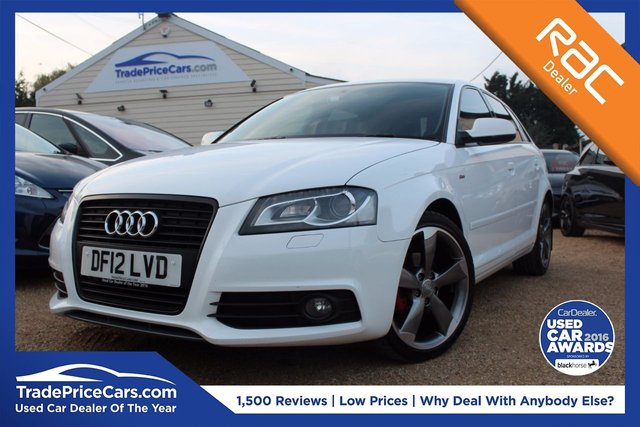 View our 2012 12 AUDI A3 2.0 SPORTBACK TDI S LINE SPECIAL EDITION 5d 138 BHP