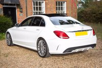 USED 2015 15 MERCEDES-BENZ C-CLASS 2.1 C250 BLUETEC AMG LINE PREMIUM PLUS 4d AUTO 204 BHP MEGA SPEC PANROOF_REVERSE CAM+BURMESTER® SURROUND SOUND BEST FINANCE RATES 1ST SEE WILL BUY