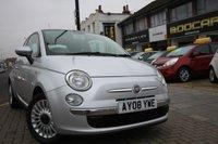2008 FIAT 500 1.2 LOUNGE MULTIJET 75 3d 75 BHP £3995.00