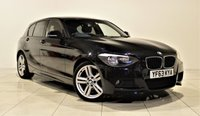 USED 2013 63 BMW 1 SERIES 2.0 116D M SPORT 5d 114 BHP + 1 PREV OWNER FROM NEW  +  EXCELLENT CONDITION