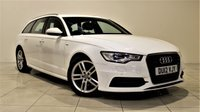 USED 2012 12 AUDI A6 2.0 AVANT TDI S LINE 5d 175 BHP + 1 PREV OWNER FROM NEW  +  EXCELLENT CONDITION