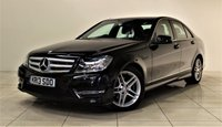 USED 2013 13 MERCEDES-BENZ C-CLASS 2.1 C220 CDI BLUEEFFICIENCY AMG SPORT 4d AUTO 168 BHP + 1 PREV OWNER +  SAT NAV + AIR CON + AUX + BLUETOOTH + SERVICE HISTORY