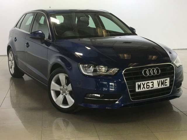 View our 2013 63 AUDI A3 1.6 TDI SPORT 5d 104 BHP