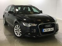 USED 2014 64 AUDI A6 2.0 AVANT TDI ULTRA SE 5d 188 BHP One Owner From New/Huge Spec