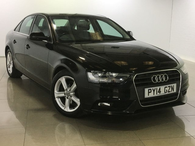 View our 2014 14 AUDI A4 2.0 TDI ULTRA SE TECHNIK 4d 161 BHP