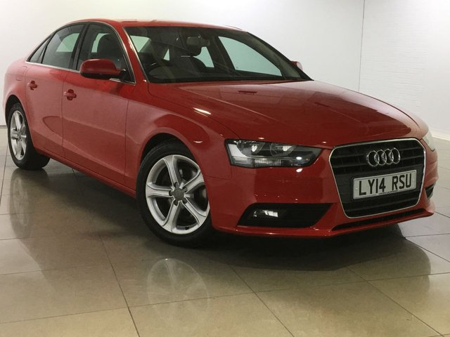 View our 2014 14 AUDI A4 2.0 TDI SE 4d 134 BHP