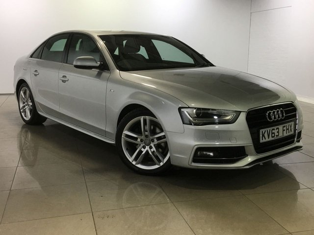View our 2013 63 AUDI A4 2.0 TDI S LINE START/STOP 4d AUTO 148 BHP