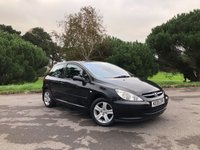 USED 2005 05 PEUGEOT 307 1.6 S HDI 3d 108 BHP Long Mot Until September 2018