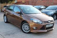 USED 2014 64 FORD FOCUS 1.0 ZETEC S S/S 5d 124 BHP **** EXCELLENT THROUGHOUT ****