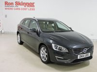 USED 2014 14 VOLVO V60 1.6 D2 SE LUX 5d 113 BHP