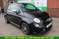 USED 2014 64 ABARTH 500 1.4 ABARTH 3d 135 BHP +Just Serviced +WOW, Spotless