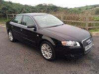 2007 AUDI A4 2.0 SE 4d AUTO 129 BHP £4290.00