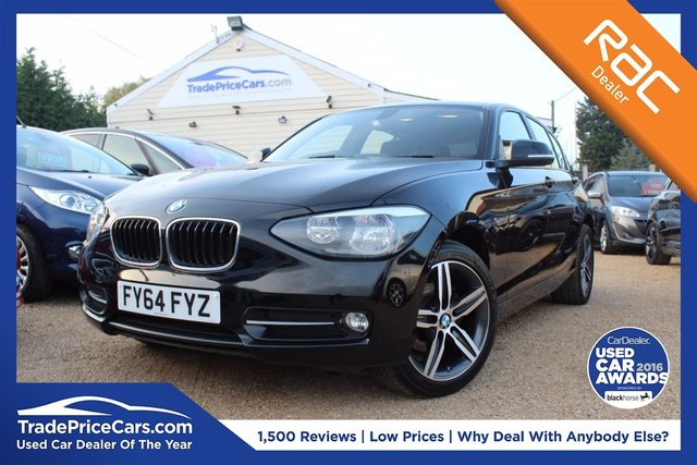 View our 2014 64 BMW 1 SERIES 2.0 116D SPORT 5d 114 BHP
