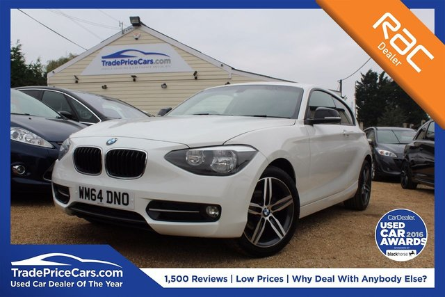 View our 2014 64 BMW 1 SERIES 2.0 116D SPORT 3d 114 BHP
