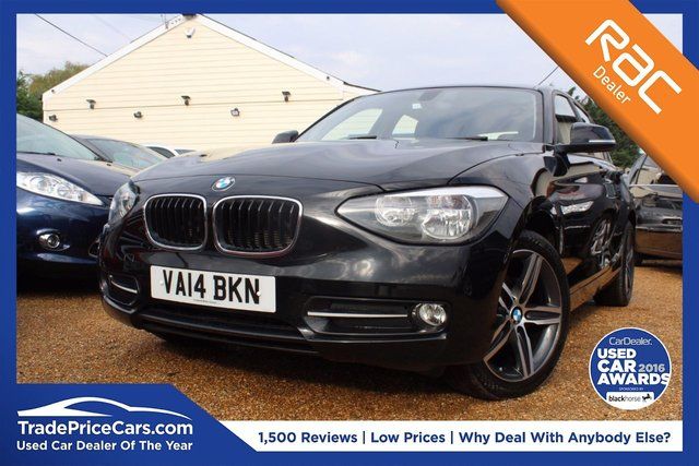 View our 2014 14 BMW 1 SERIES 2.0 116D SPORT 5d 114 BHP