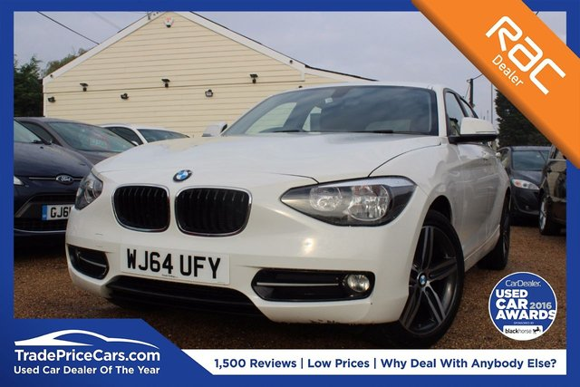 View our 2014 64 BMW 1 SERIES 2.0 116D SPORT 5d AUTO 114 BHP