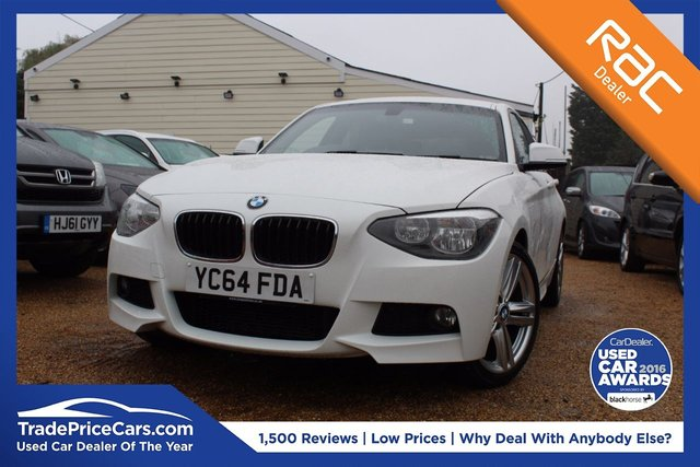 View our 2014 64 BMW 1 SERIES 2.0 116D M SPORT 5d 114 BHP