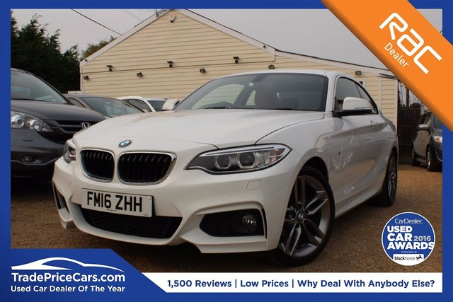 View our 2016 16 BMW 2 SERIES 1.5 218I M SPORT 2d 134 BHP