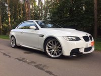 2008 BMW M3 4.0 M3 2d AUTO 414 BHP Convertible with Competition Pack Extras  £19995.00