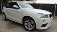 USED 2013 63 BMW X3 2.0 XDRIVE20D M SPORT 5dr AUTO Huge Spec, Sat Nav, Leather