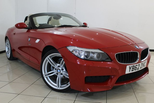 View our 2013 62 BMW Z4 2.0 Z4 SDRIVE20I M SPORT ROADSTER 2DR 181 BHP