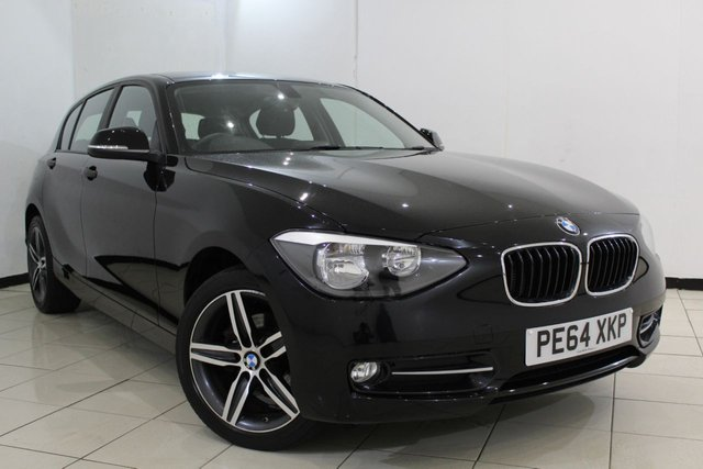 View our 2014 64 BMW 1 SERIES 1.6 116I SPORT 5DR 135 BHP