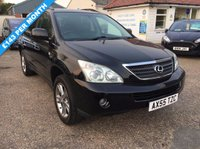USED 2017 06 LEXUS RX 400H  EXCELLENT SERVICE HISTORY WITH A SERVICE BOOK WITH 11 RECORDS