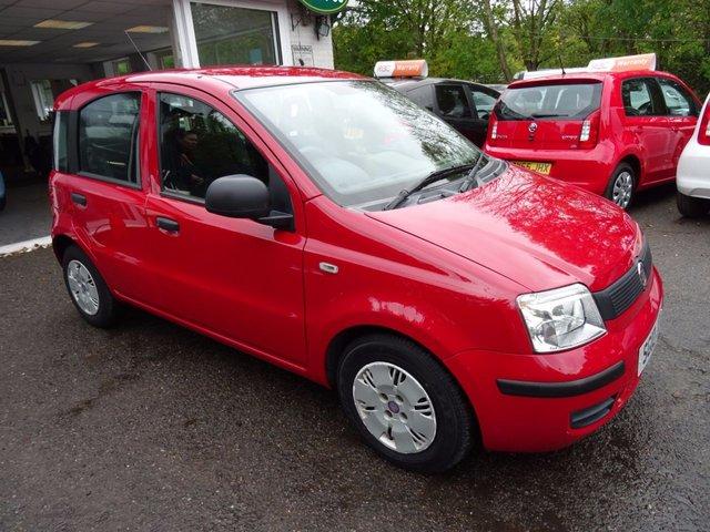 2010 10 FIAT PANDA 1.1 ACTIVE ECO 5d 54 BHP