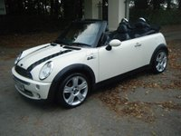 USED 2006 55 MINI CONVERTIBLE 1.6 COOPER 2d 114 BHP **LOW MILEAGE FOR THE YEAR**2 OWNERS**S/HISTORY**HPI**