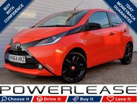 USED 2014 64 TOYOTA AYGO 1.0 VVT-I X-CITE 5d 69 BHP BLACK FRIDAY WEEKEND EVENT, FULL LEATHER DAB REVERSE CAMERA