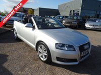 USED 2010 10 AUDI A3 1.6 MPI SPORT 2d 101 BHP The vehicle history is 1 previous keeper, 3 Audi dealership & 2 other service stamps and has an MOT dated March 19th 2018.With contrasting Charcoal trim, Sport Audi Alloys and chrome pack this has a really sporty look to it. The Leather sports steering wheel and electric convertible roof also continues that sporty look to the interior with the extras of heated door mirrors, switchable air bag, heated door mirrors, DRL headlight system and air conditioning is a very usable car.  ISOFIX anchorage
