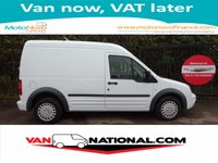2013 FORD TRANSIT CONNECT 1.8 T230 TREND LWB HIGH ROOF 90 BHP £5750.00