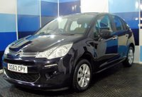 USED 2013 63 CITROEN C3 1.6 E-HDI AIRDREAM VTR PLUS 5d 91 BHP A stunning example of this very reliable and ecconomical family diesel hatchback returning a very impressive combined mpg of 78.5 with free road tax ,the car is finished in a deep royal blue paintwork contrasted with silver alloys a truely bright looking car ,This car is equiped with all the usual refinements plus stop start usb and bluetooth connectivity.