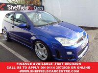 2003 FORD FOCUS 2.0 RS 3d 215 BHP £8975.00