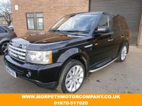 USED 2006 56 LAND ROVER RANGE ROVER SPORT 2.7 TDV6 SPORT HSE 5d AUTO 188 BHP *** 10 SERVICE STAMPS INCLUDING TIMING BELT***