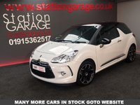 USED 2012 12 CITROEN DS3 1.6 DSTYLE PLUS 3d 120 BHP FULL CITROEN SERVICE HISTORY, VERY NICE EXAMPLE