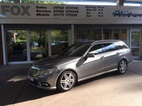 2011 MERCEDES-BENZ E CLASS 3.0 E350 CDI BLUEEFFICIENCY SPORT ED125 5d AUTO 265 BHP £13475.00