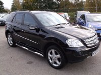 USED 2007 07 MERCEDES-BENZ M CLASS 3.0 ML320 CDI SPORT 5d AUTO 222 BHP AFFORDABLE FAMILY 4X4 IN EXCELLENT CONDITION, DRIVES SUPERBLY WITH EXCELLENT SERVICE HISTORY , GREAT SPEC !!!!