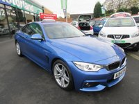 USED 2014 64 BMW 4 SERIES 2.0 420D M SPORT 2d 181 BHP TEST DRIVE TODAY JUST ARRIVED