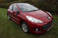 USED 2010 60 PEUGEOT 207 1.4 MILLESIM 5d 74 BHP,LOW MILEAGE,AIR CON,ALLOYS,HISTORY
