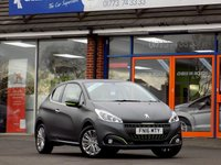 USED 2016 16 PEUGEOT 208 1.2 ACTIVE DESIGN SPECIAL EDITION 3dr *ONLY 9.9% APR with FREE Servicing*