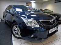 2011 TOYOTA AVENSIS 1.8 VALVEMATIC TR 4d 145 BHP £6995.00