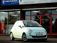USED 2014 14 FIAT 500 1.2 LOUNGE 3dr * Pan Roof * *ONLY 9.9% APR*
