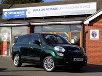 USED 2014 14 FIAT 500L MPW 1.3 MULTIJET LOUNGE 5dr * 7 Seater * *ONLY 9.9% APR with FREE Servicing*