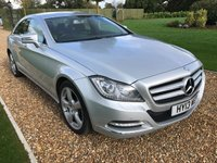 2013 MERCEDES-BENZ CLS CLASS 2.1 CLS250 CDI BLUEEFFICIENCY 4d AUTO 204 BHP £17000.00