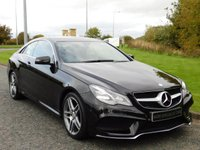 USED 2014 64 MERCEDES-BENZ E CLASS 2.1 E220 CDI AMG SPORT 2d AUTO 170 BHP SAT NAV, DAB, HEATED SEATS