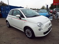 USED 2009 59 FIAT 500 1.2 POP 3d 69 BHP ONE LADY OWNER FROM NEW / FULL SERVICE HISTORY